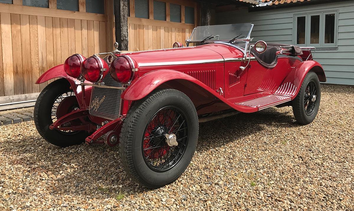 1932 Alfa Romeo 6C 1750