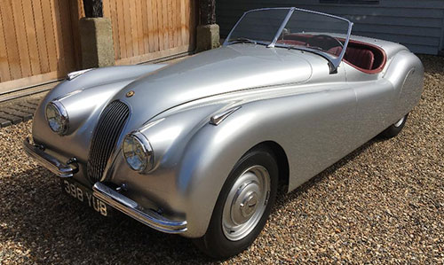 1950 XK120 Alloy Roadster LHD