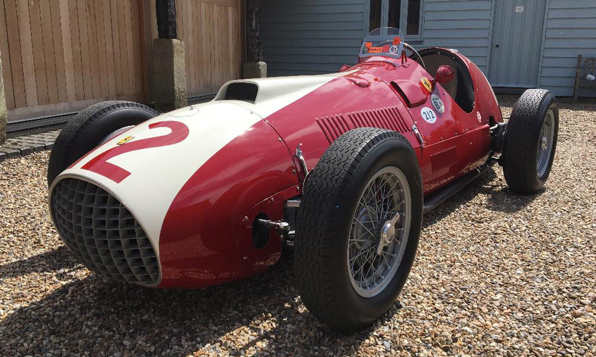 1951 Ferrari Monoposto Chassis # 102