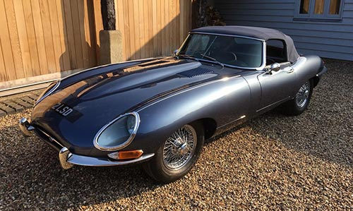 1961 E Type 'Flat Floor' Roadster