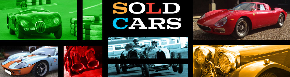 Old Racing Car Company - Sold Cars