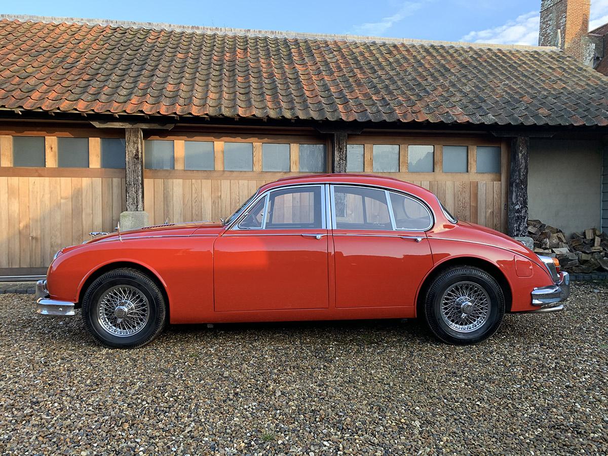 1963 Jaguar MK II 3.8 'Coombs'